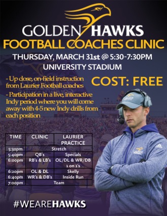 Laurier Football Coaches Clinic
