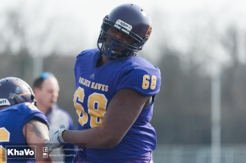 20170324 - Kha Vo - Laurier Football scrimmage vs Western_-107