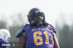 20170324 - Kha Vo - Laurier Football scrimmage vs Western_-110