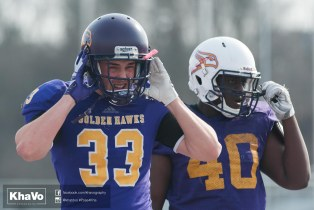 20170324 - Kha Vo - Laurier Football scrimmage vs Western_-111