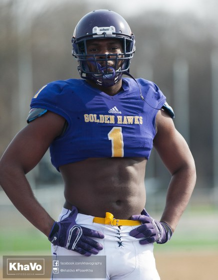 20170324 - Kha Vo - Laurier Football scrimmage vs Western_-114