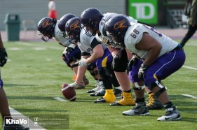 20170324 - Kha Vo - Laurier Football scrimmage vs Western_-115