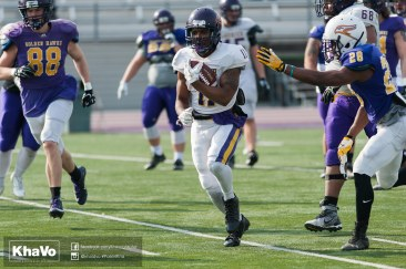 20170324 - Kha Vo - Laurier Football scrimmage vs Western_-119