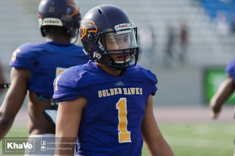 20170324 - Kha Vo - Laurier Football scrimmage vs Western_-120