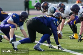 20170324 - Kha Vo - Laurier Football scrimmage vs Western_-121