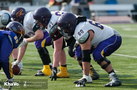 20170324 - Kha Vo - Laurier Football scrimmage vs Western_-123