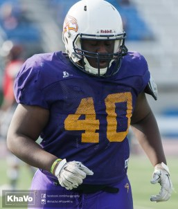 20170324 - Kha Vo - Laurier Football scrimmage vs Western_-125