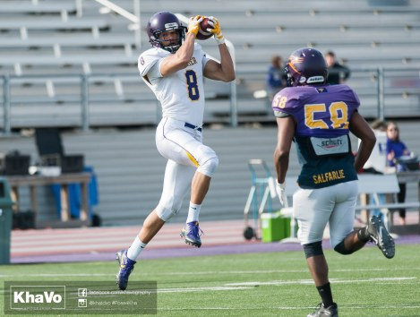 20170324 - Kha Vo - Laurier Football scrimmage vs Western_-128