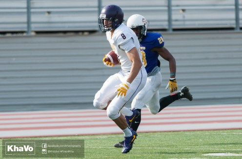 20170324 - Kha Vo - Laurier Football scrimmage vs Western_-129