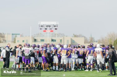 20170324 - Kha Vo - Laurier Football scrimmage vs Western_-131