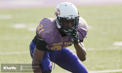 20170324 - Kha Vo - Laurier Football scrimmage vs Western_-136