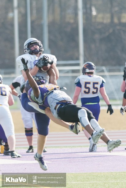 20170324 - Kha Vo - Laurier Football scrimmage vs Western_-138