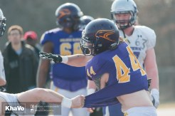 20170324 - Kha Vo - Laurier Football scrimmage vs Western_-142