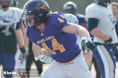 20170324 - Kha Vo - Laurier Football scrimmage vs Western_-143