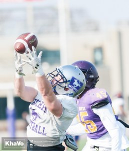 20170324 - Kha Vo - Laurier Football scrimmage vs Western_-150