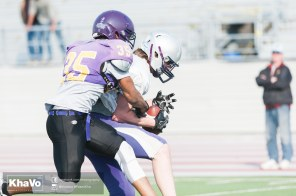 20170324 - Kha Vo - Laurier Football scrimmage vs Western_-152