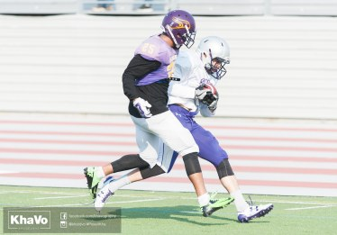 20170324 - Kha Vo - Laurier Football scrimmage vs Western_-157