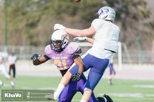 20170324 - Kha Vo - Laurier Football scrimmage vs Western_-158