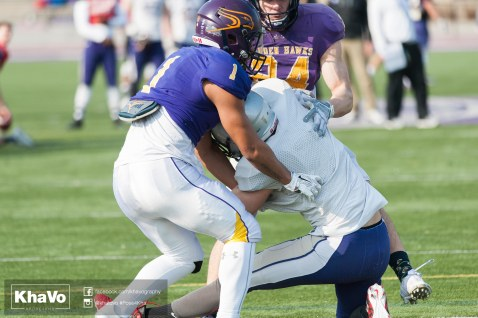 20170324 - Kha Vo - Laurier Football scrimmage vs Western_-160