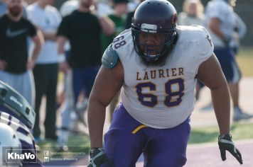 20170324 - Kha Vo - Laurier Football scrimmage vs Western_-164