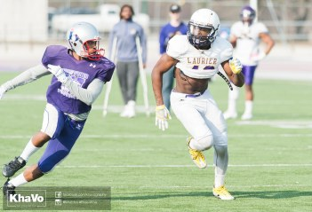 20170324 - Kha Vo - Laurier Football scrimmage vs Western_-168