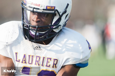 20170324 - Kha Vo - Laurier Football scrimmage vs Western_-169