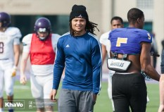 20170324 - Kha Vo - Laurier Football scrimmage vs Western_-17