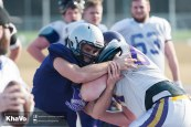 20170324 - Kha Vo - Laurier Football scrimmage vs Western_-174