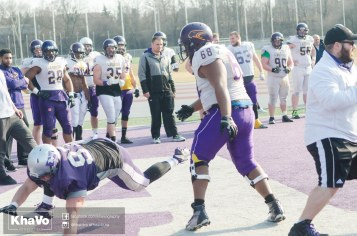20170324 - Kha Vo - Laurier Football scrimmage vs Western_-178