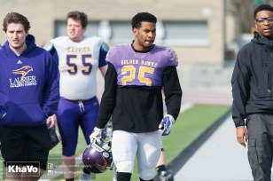 20170324 - Kha Vo - Laurier Football scrimmage vs Western_-18