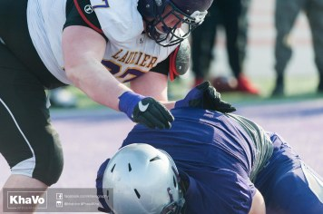 20170324 - Kha Vo - Laurier Football scrimmage vs Western_-180