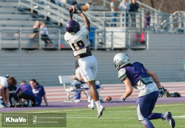 20170324 - Kha Vo - Laurier Football scrimmage vs Western_-185