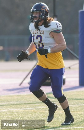 20170324 - Kha Vo - Laurier Football scrimmage vs Western_-195