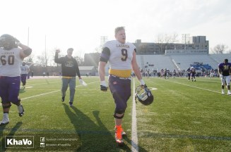 20170324 - Kha Vo - Laurier Football scrimmage vs Western_-200