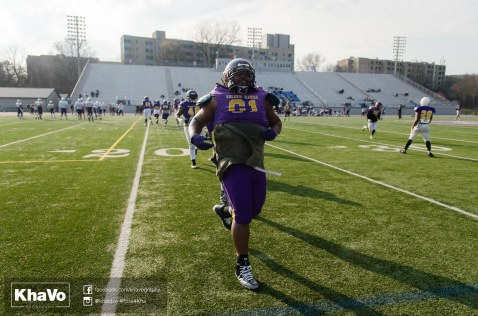 20170324 - Kha Vo - Laurier Football scrimmage vs Western_-211