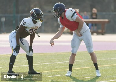 20170324 - Kha Vo - Laurier Football scrimmage vs Western_-212