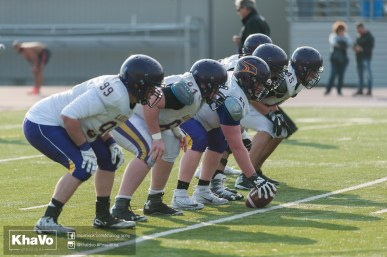 20170324 - Kha Vo - Laurier Football scrimmage vs Western_-215