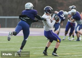 20170324 - Kha Vo - Laurier Football scrimmage vs Western_-217