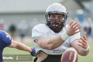20170324 - Kha Vo - Laurier Football scrimmage vs Western_-221