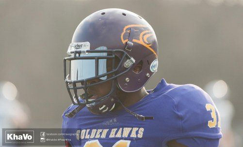 20170324 - Kha Vo - Laurier Football scrimmage vs Western_-224