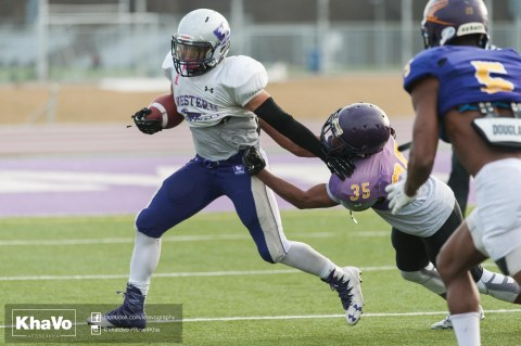 20170324 - Kha Vo - Laurier Football scrimmage vs Western_-225