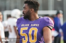 20170324 - Kha Vo - Laurier Football scrimmage vs Western_-228