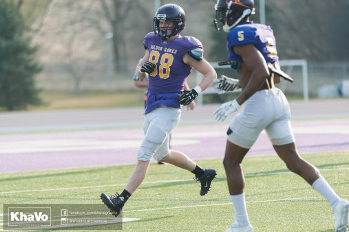 20170324 - Kha Vo - Laurier Football scrimmage vs Western_-235
