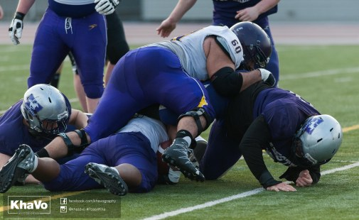20170324 - Kha Vo - Laurier Football scrimmage vs Western_-248