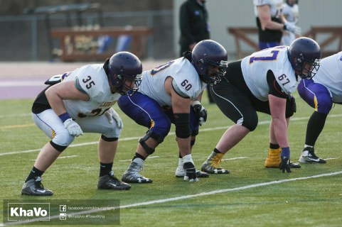 20170324 - Kha Vo - Laurier Football scrimmage vs Western_-249