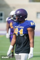 20170324 - Kha Vo - Laurier Football scrimmage vs Western_-25