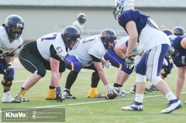 20170324 - Kha Vo - Laurier Football scrimmage vs Western_-258
