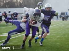 20170324 - Kha Vo - Laurier Football scrimmage vs Western_-259