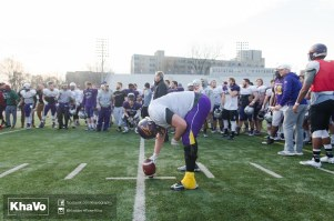 20170324 - Kha Vo - Laurier Football scrimmage vs Western_-260