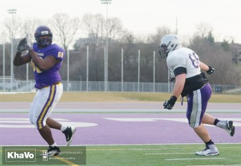 20170324 - Kha Vo - Laurier Football scrimmage vs Western_-262